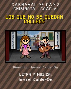 Libreto de Chirigota Los Que No Se Quedan Callaos del Carnaval de Cadiz
