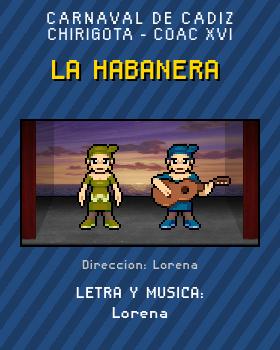 Libreto de Chirigota La Habanera del Carnaval de Cadiz
