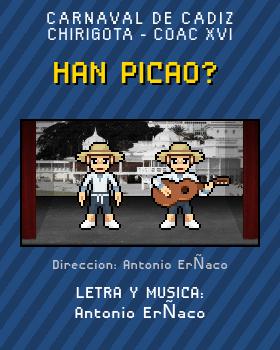 Libreto de Chirigota Han Picao? del Carnaval de Cadiz