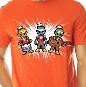 Camiseta de Chirigota Los De Arriba del Carnaval de Cadiz