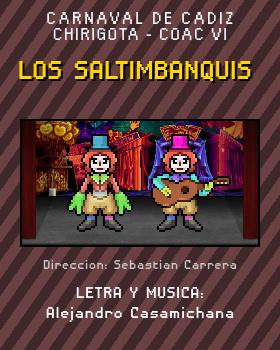 Libreto de Chirigota Los Saltimbanquis del Carnaval de Cadiz