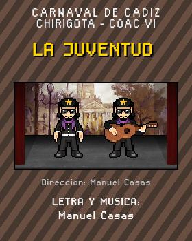 Libreto de Chirigota La Juventud del Carnaval de Cadiz