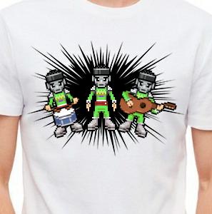 Camiseta de Chirigota Los De La Galaxia Verde del Carnaval de Cadiz