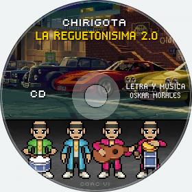 Cd de Chirigota La Reguetonisima 2.0 del Carnaval de Cadiz