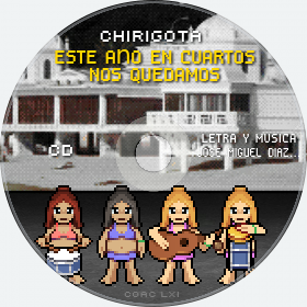 Cd de Chirigota Este Año En Cuartos Nos Quedamos del Carnaval de Cadiz