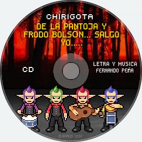 Cd de Chirigota De La Pantoja Y Frodo Bolsón... Salgo Yo..... del Carnaval de Cadiz