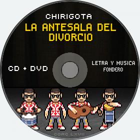 Cd de Chirigota La Antesala Del Divorcio del Carnaval de Cadiz