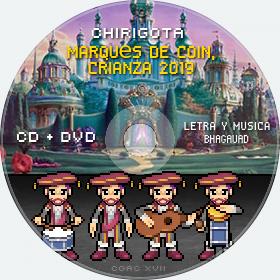 Cd de Chirigota Marqués De Coin, Crianza 2019 del Carnaval de Cadiz