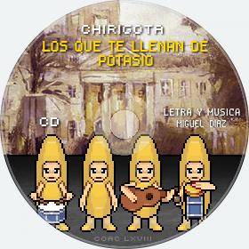 Cd de Chirigota Los Que Te Llenan De Potasio del Carnaval de Cadiz