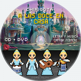 Cd de Chirigota A Las Doce En Casa del Carnaval de Cadiz