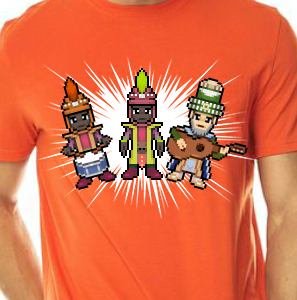 Camiseta de Chirigota La Cosa Va De Reyes del Carnaval de Cadiz