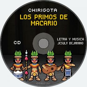 Cd de Chirigota Los Primos De Macario del Carnaval de Cadiz