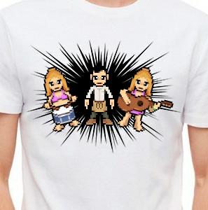 Camiseta de Chirigota Entre El Chicuco, El Chileno Y El Chino Nos Van A Meter Todo El Pepepino del Carnaval de Cadiz