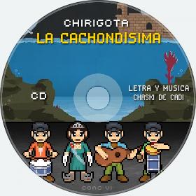 Cd de Chirigota La Cachondísima del Carnaval de Cadiz