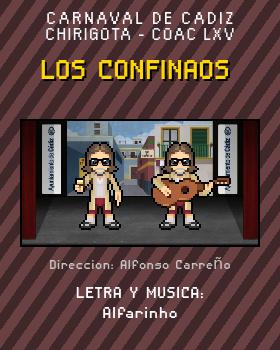 Libreto de Chirigota Los Confinaos del Carnaval de Cadiz