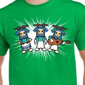 Camiseta de Chirigota Los Colgaitos De La Caleta del Carnaval de Cadiz