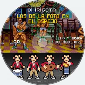 Cd de Chirigota Los De La Foto En El Espejo del Carnaval de Cadiz