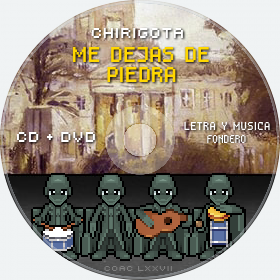Cd de Chirigota Me Dejas De Piedra del Carnaval de Cadiz
