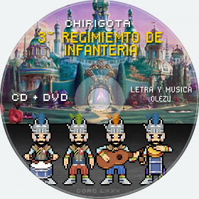 Cd de Chirigota 3° Regimiemto De Infanteria del Carnaval de Cadiz