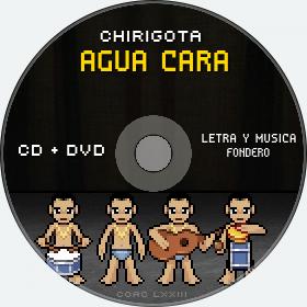 Cd de Chirigota Agua Cara del Carnaval de Cadiz
