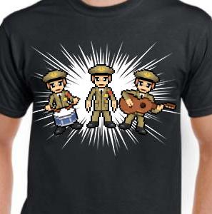 Camiseta de Chirigota Los Grises del Carnaval de Cadiz