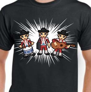 Camiseta de Chirigota Una Parada En El Camino del Carnaval de Cadiz