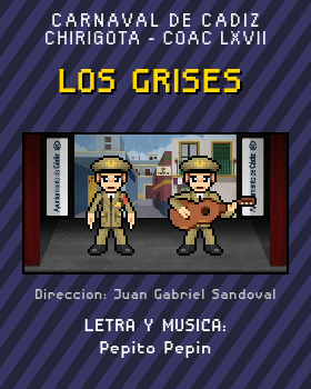 Libreto de Chirigota Los Grises del Carnaval de Cadiz