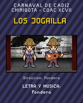 Libreto de Chirigota Los Jogailla del Carnaval de Cadiz