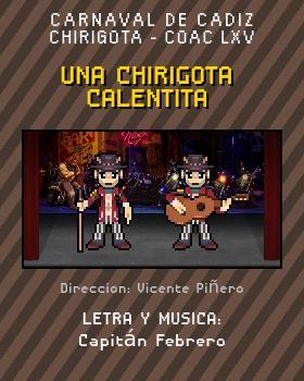 Libreto de Chirigota Una Chirigota Calentita del Carnaval de Cadiz