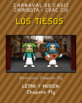 Libreto de Chirigota Los Tiesos del Carnaval de Cadiz