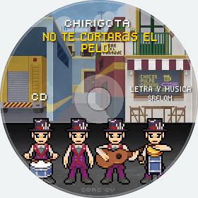 Cd de Chirigota No Te Cortarás El Pelo... del Carnaval de Cadiz