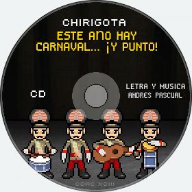 Cd de Chirigota Este Año Hay Carnaval... ¡y Punto! del Carnaval de Cadiz