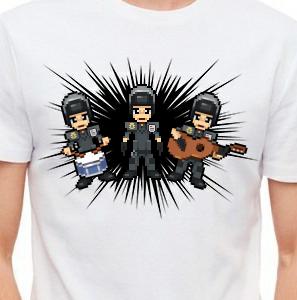 Camiseta de Chirigota Los Que Le Cerraron El Bar Al Bizcocho del Carnaval de Cadiz