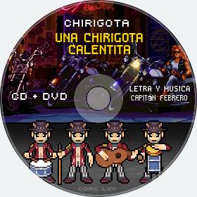 Cd de Chirigota Una Chirigota Calentita del Carnaval de Cadiz