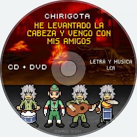 Cd de Chirigota He Levantado La Cabeza Y Vengo Con Mis Amigos del Carnaval de Cadiz