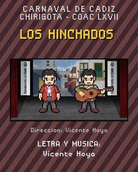 Libreto de Chirigota Los Hinchados del Carnaval de Cadiz