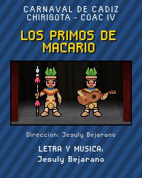 Libreto de Chirigota Los Primos De Macario del Carnaval de Cadiz