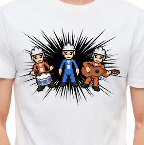 Camiseta de Chirigota Currito Y Del Pp Gilipollas Has De Ser del Carnaval de Cadiz