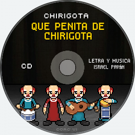 Cd de Chirigota Que Penita De Chirigota del Carnaval de Cadiz