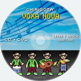 Cd de Chirigota Voxa Nova del Carnaval de Cadiz