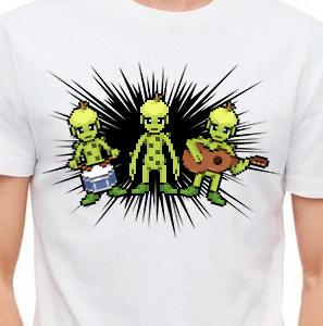 Camiseta de Chirigota De Verde Verde Limon del Carnaval de Cadiz