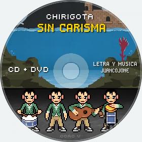 Cd de Chirigota Sin Carisma del Carnaval de Cadiz