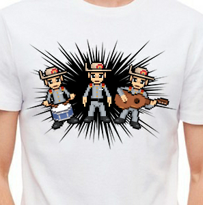 Camiseta de Chirigota Illo Estoy To Rallao del Carnaval de Cadiz