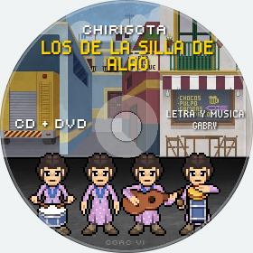 Cd de Chirigota Los De La Silla De Alao del Carnaval de Cadiz