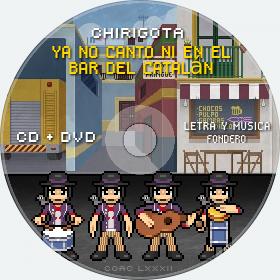 Cd de Chirigota Ya No Canto Ni En El Bar Del Catalán del Carnaval de Cadiz