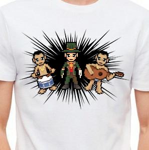 Camiseta de Chirigota Los Que Retienen Agua del Carnaval de Cadiz