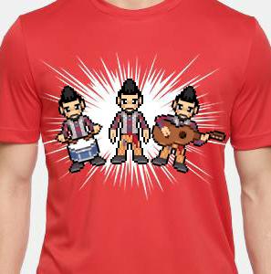 Camiseta de Chirigota Hasta La última Gota del Carnaval de Cadiz
