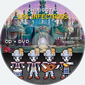 Cd de Chirigota Los Infectados del Carnaval de Cadiz