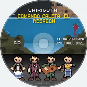 Cd de Chirigota Comando Caleta: El Resacon del Carnaval de Cadiz