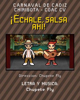 Libreto de Chirigota ¡Échale Salsa Ahí! del Carnaval de Cadiz